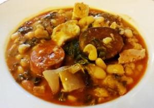 Косидо монтаньес (Cocido montañes) - густой суп