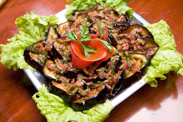 Блюда из овощей. Berenjenas fritas