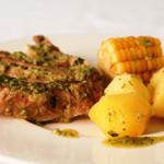 Мясные блюда Канарских островов. Costillas con papas