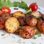 Папас арругадас — вареный молодой картофель