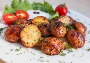 Папас арругадас (Papas arrugadas) - молодой картофель