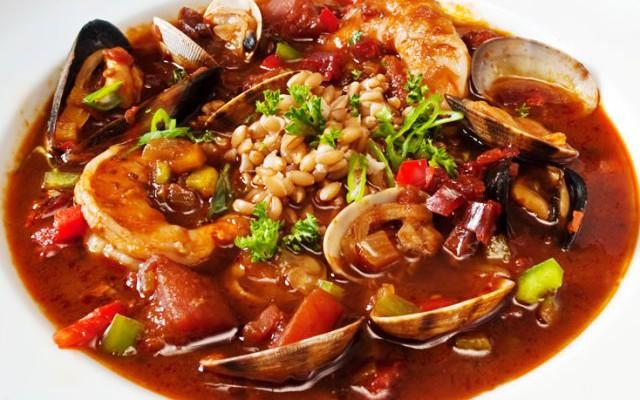 Блюда из рыбы и морепродуктов. Zarzuela