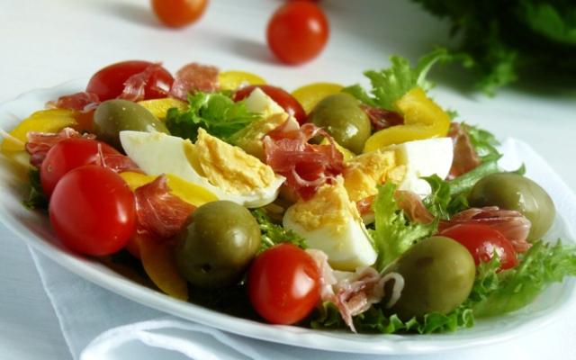 Диета на 7 дней. Овощной салат