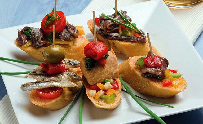 Испанские закуски