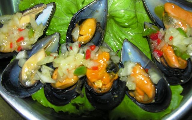 Блюда из морепродуктов в Астурии