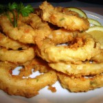 Блюда из морепродуктов в Кантабрии. Rabas