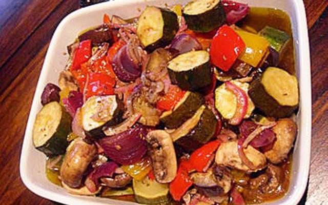 Из диеты на 5 дней - Запеченные овощи