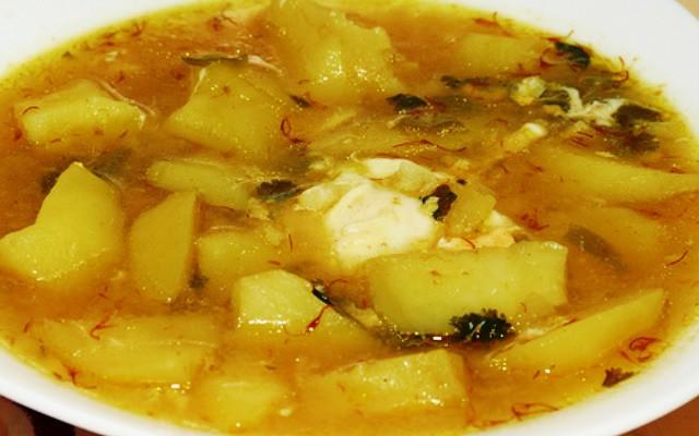 Кальдо де папас - картофельный суп