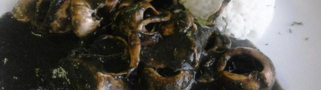 Чипиронес (chipirones) – фаршированные кальмары
