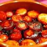 Чорисо а ля сидра — колбаски, сваренные в сидре