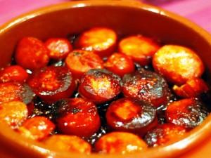 Чорисо а ля сидра (chorizo a la sidra)
