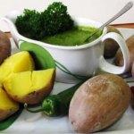 Мохо верде — зеленый соус