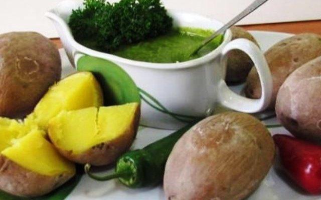 Мохо верде (Mojo verde) – зеленый соус