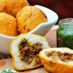 Папас рейенас – фаршированный картофель