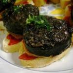 Пинчос «Морсилья с картофелем и сладким перцем»