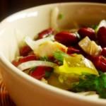 Ремохон – салат из фасоли и апельсинов