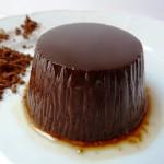 Шоколадно-кофейный флан