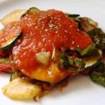 Тумбет майоркин – жареный баклажан с овощами