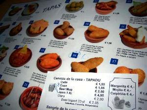 Тапас-бары Барселоны. Тapadu