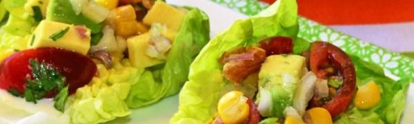 Кочанный салат с авокадо и помидорами (tudelacon aguacate y tomate)