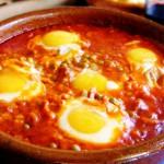 Huevos a la Cazuela – яичная запеканка