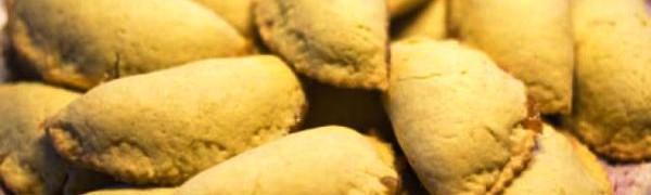 Пирожки их пресного теста с миндалем (Robiols)
