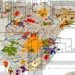 Обновлена карта винодельческих регионов Испании