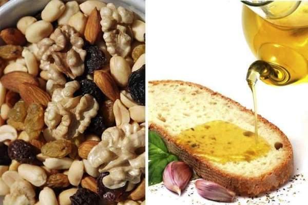 Орехи и оливковое масло предотвращают метаболический синдром