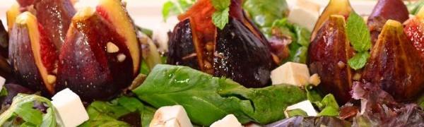 Теплый салат из инжира, сыра и хамона (Ensalada tibia de higos, queso y jamón)