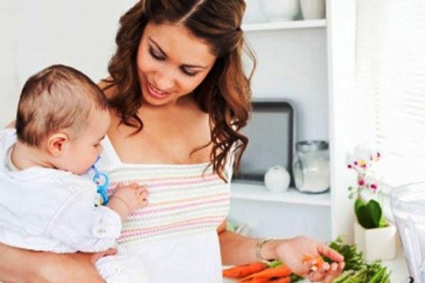 Режим питания после родов