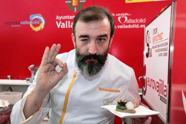 Иньяки Родриго Рохас - победитель Конкурса пинчос и тапас в Вальядолиде