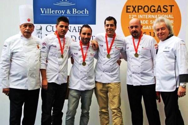 Испания получила бронзовую медаль на Кубке мировой кухни
