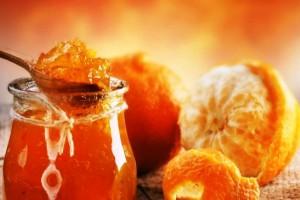 Апельсины с медом и имбирем