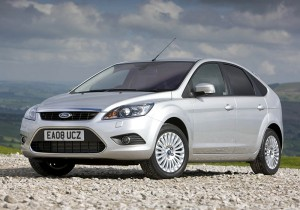 2008 Ford Focus with Powershift. (UK) (05/28/08)