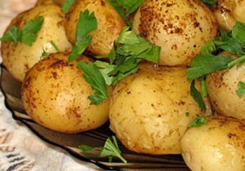 Полезная картошка