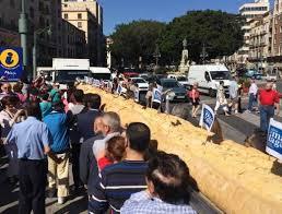 В Малаге спекли самый большой хлеб
