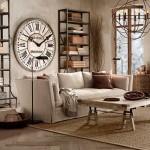 Часы однозначно участвуют в декоре помещений