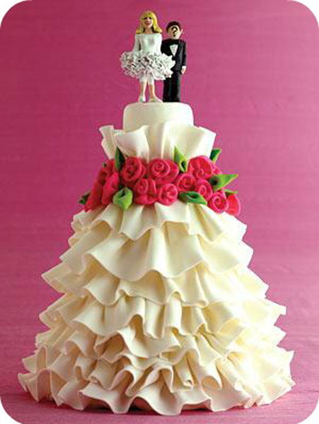 На свадьбе точно не обойтись без торта