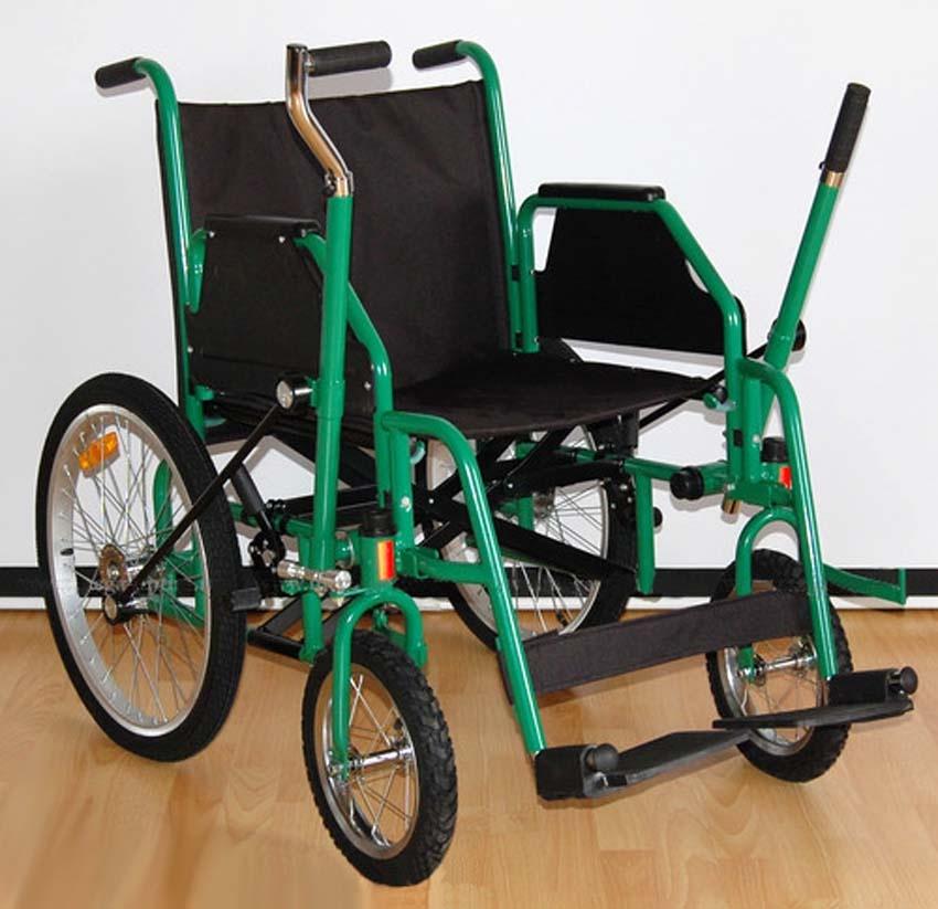 Инвалидная коляска облегчает жизнь