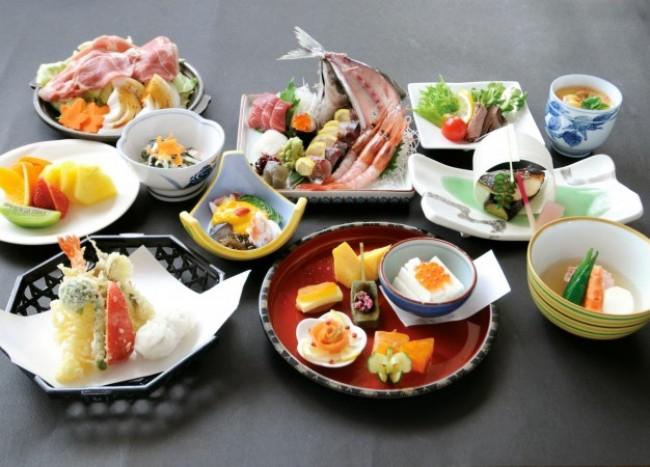 Японская кухня очень полезная
