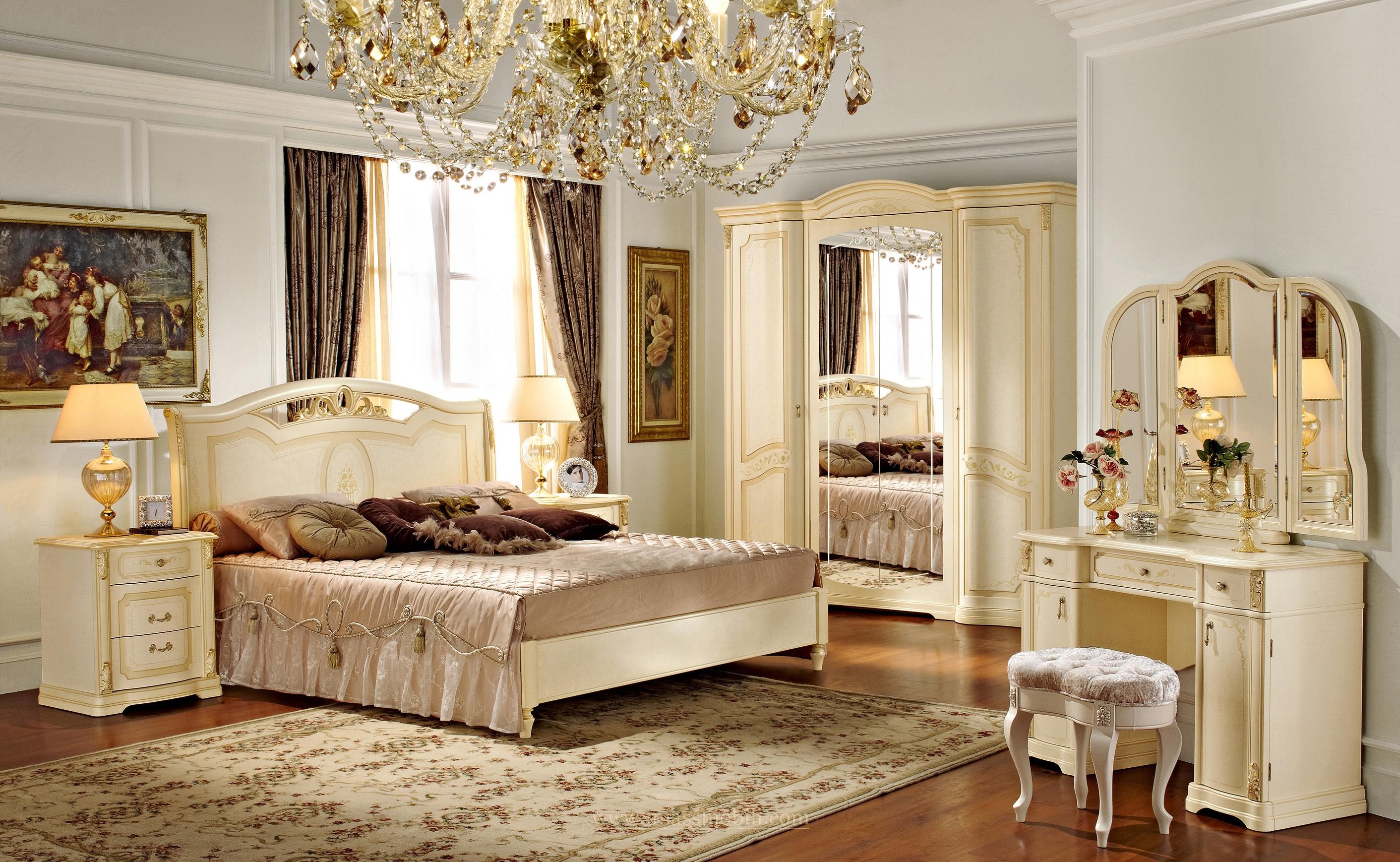 Классическая мебель всегда актуальна в спальне